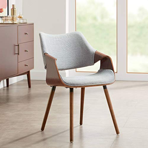 Westin Gray Fabric and Beech Wood Dining Chair - Studio 55D