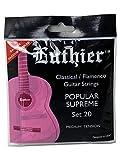 CUERDAS GUITARRA CLASICA - Luthier (LU/20) Popular Supreme/20 (Juego Completo)