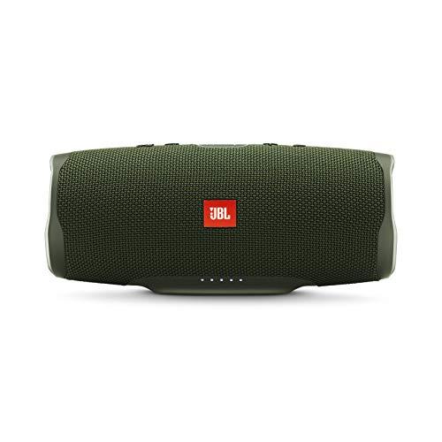 Alto-falante Bluetooth portátil JBL Charge 4 à prova d'água com bateria de 20 horas, Verde