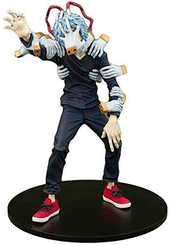 Liiokiy Anime Modelo PVC Colección de PVC Juguete Hecho A Mano Modelo Juguetes My Hero Academia Figura Estatua 7.8-Inch Minifiguras de dibujos animados Modelo Coleccionable Juguetes Animaciones Arte P