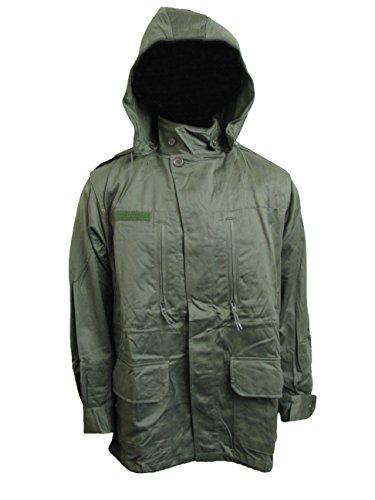 Viz-uk wear Veste de combat militaire M64 vintage en Olive Drab - Vert - petit