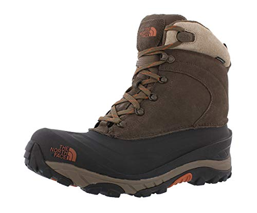 The North Face Chilkat III, Chaussures de Randonnée Hautes Homme, Marron (Mudpack Brown/Bombay Orange Yva), 43 EU