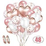 Crislove Rosegold Luftballon Set