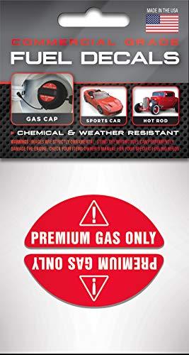 Gasoline Pump Pump Labels 93 Octane ONLY Automotive Fuel Decals Racing Gas Door Stickers Vinyl Markers for Car Truck SUV