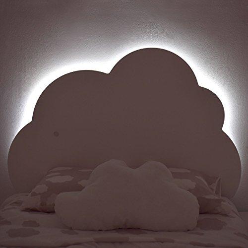 Bainba Cabecero Infantil Nube con Luz (para colchones 90)