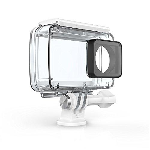 YI - Alloggiamento impermeabile per Action Camera 4K (accessorio ufficiale), bianco