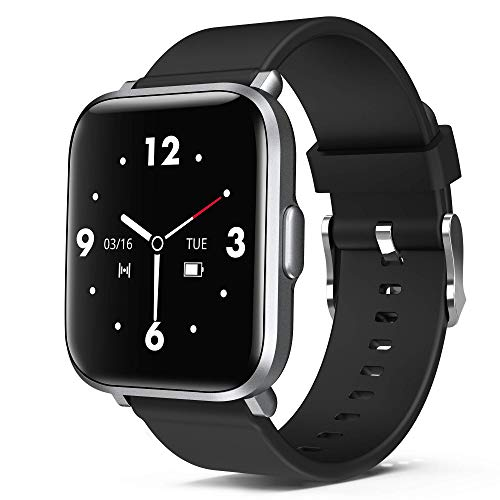 ORYTO Smartwatch,1.3 Zoll DIY Touch-Screen Fitness Armband Uhr mit 18 Sportmodi Fitness Tracker IP68 Wasserdicht Sportuhr Smart Watch für Damen Herren mit Pulsuhr,Schrittzähler,Schlafmonitor,Stoppuhr