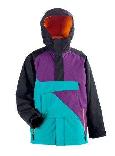 Nitro Kinder Jacke Boys Funtime, Black/Turq/Purple, XL, 1121-872855_1073