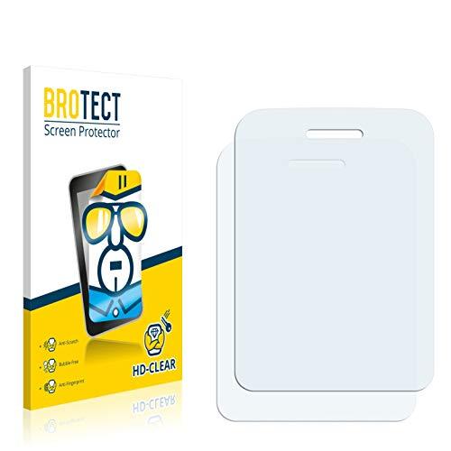 BROTECT Schutzfolie kompatibel mit Wiko Lubi 3 (2 Stück) klare Bildschirmschutz-Folie