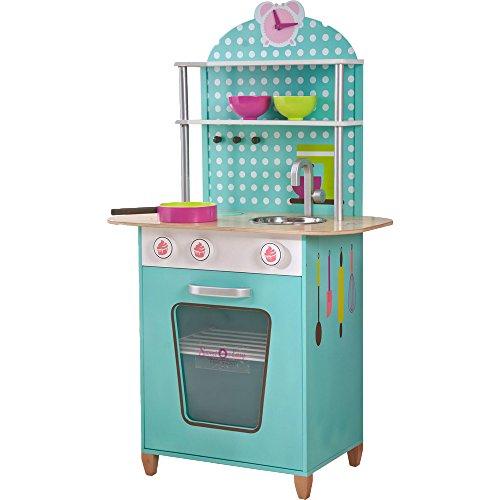 Beluga Spielwaren 68000 - Kinder Rollenspiele, Sweet und Easy, Enie backt, Holzküche (Mehr farbig)