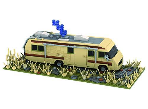 Brigamo Bloques de construcción para coche, autocaravana, cristal Ship