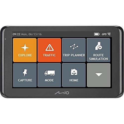 Mio, Navigatore GPS per Auto con Mappe Europa (44 Paesi), Modalità Camion,...