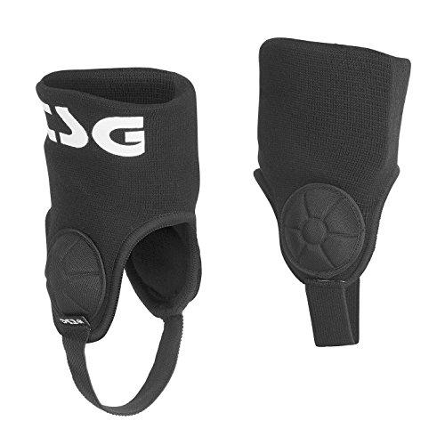 TSG Erwachsene Single Ankle-Guard Cam Schützer, Black, S/M