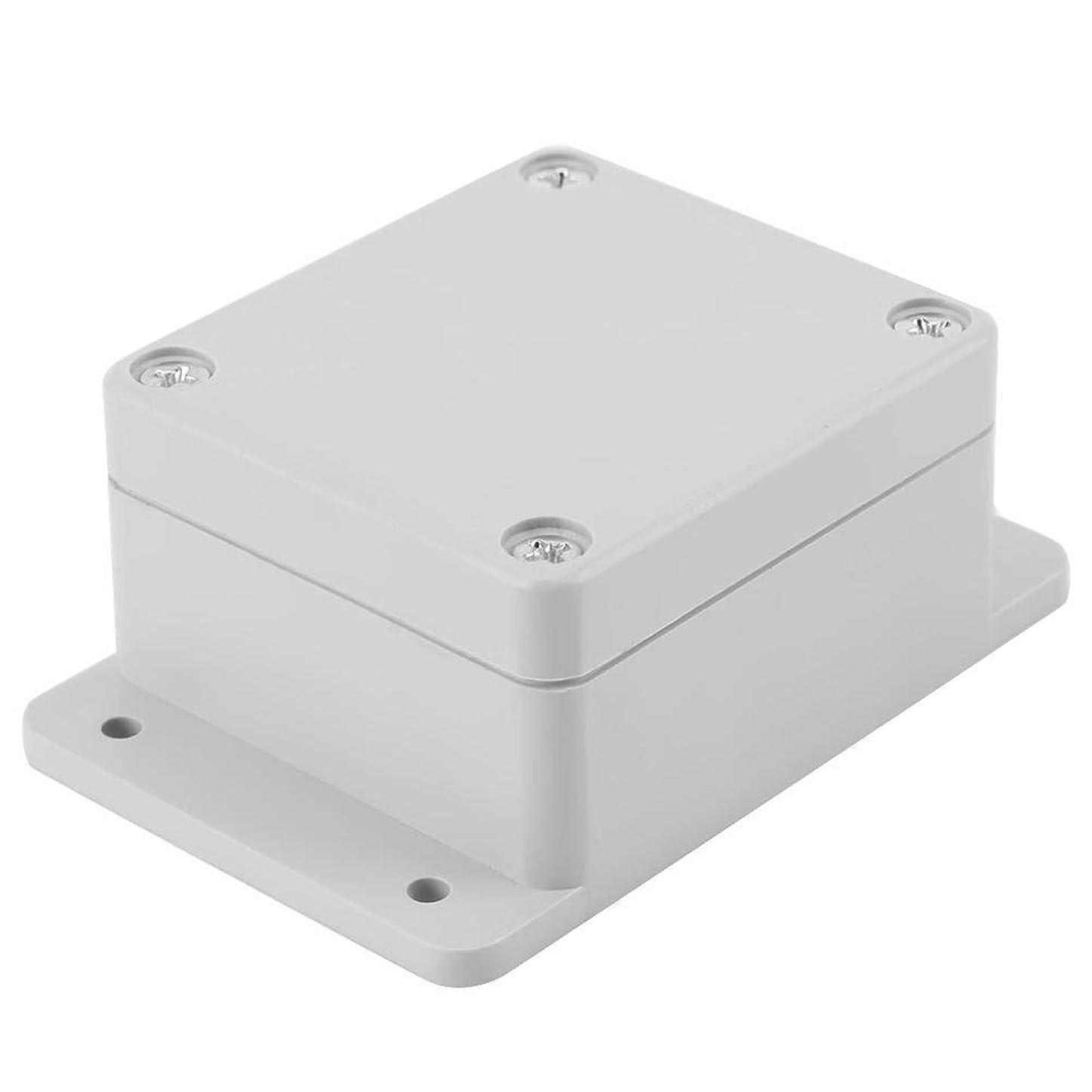 消化器配管工層ジャンクションボックス、耐水性IP65 ABS電気プロジェクトボックスエンクロージャーインスツルメントケース(158*90*60mm)