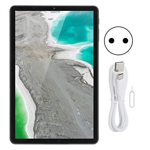 Tableta Android 10.0, Tableta de 10.4 pulgadas con pantalla táctil de 1200x2000, CPU de 8 núcleos, ROM de 8GB RAM 128GB, Cámara HD, Wi-Fi, Bluetooth, Batería incorporada de 6000mAh, Tablet PC(Negro)