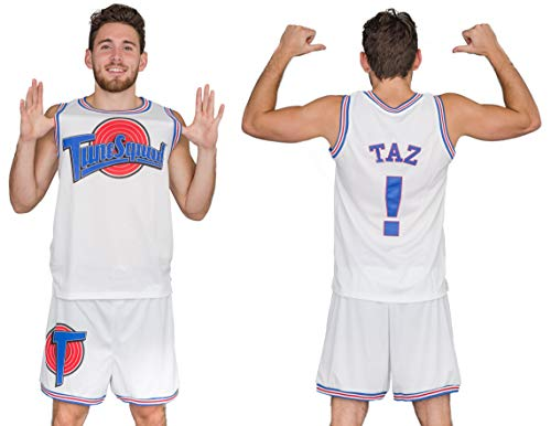 Space Jam Tune Squad Basketball Jersey (XX-Large, Taz)