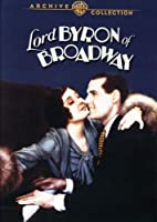 Lord Byron of Broadway [DVD] [Import]