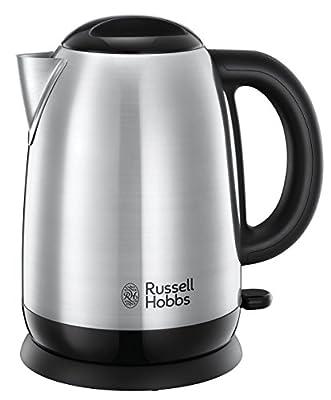 Russell Hobbs 23912-70 Bouilloire 1,7L Adventure, Ebullition Rapide, Ouverture Facile - Acier Brossé
