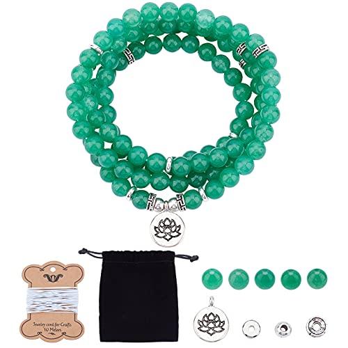 SUNNYCLUE 1 Sac DIY 108 Mala Perles Bracelet Yoga Charmes M�