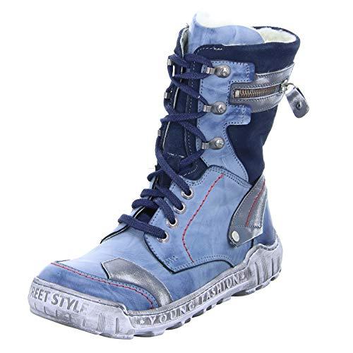 KRISBUT Stiefel 3092 Größe 38 Blau (Blau)