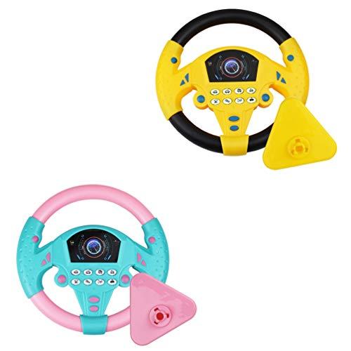 NUOBESTY 2 Stks Rijden Controller Racestuur Stuur Speelgoed Kinderen Educatief Speelgoed Voor Kinderen Speelgoed