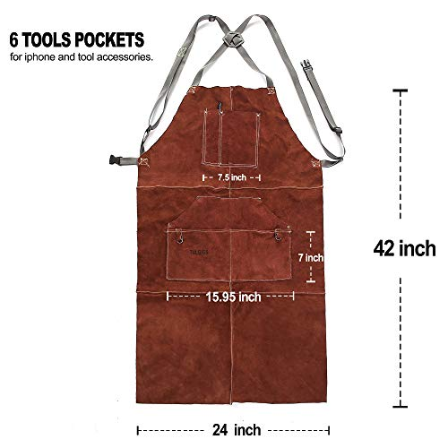Leather Welding Work Shop Aprons