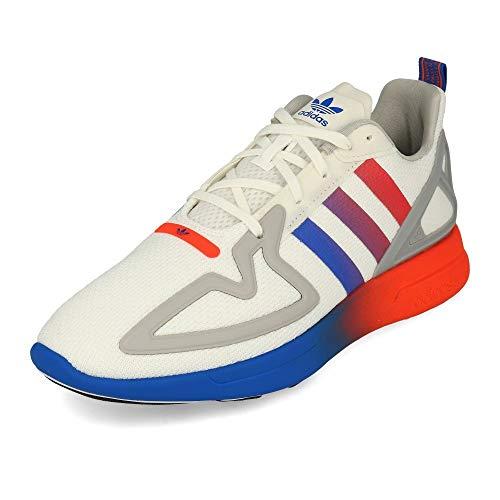 Zapatillas adidas ZX 2k Flux Blanco de Hombre. 43 1 3
