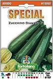 Sementi di ortaggi ibride e selezioni speciali ad uso amatoriale in buste termosaldate (80 varietà) (ZUCCHINO DIAMANT F1)