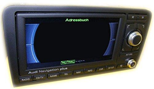RNS-E Navigation Plus 8P0 035 193 G Media gebraucht Rahmen glänzend glanz 8P0035193G