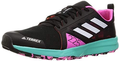 adidas Terrex Speed Flow, Zapatillas de Trail Running Hombre, NEGBÁS/Balcri/ROSCHI, 42 2/3 EU