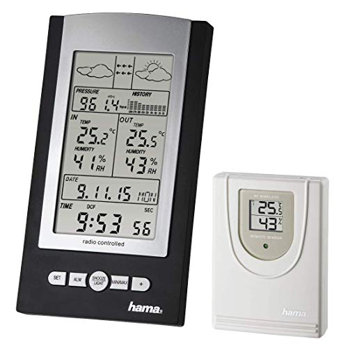 Hama - EWS-800 Electronic Weather Station - Silver (1 ACCES)