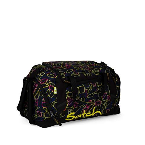Satch Sporttasche - 25l, Schuhfach, gepolsterte Schultergurte - Disco Frisco - Black