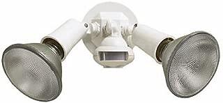 Cooper Lighting 110 Degree Motion Detector Floodlight, White