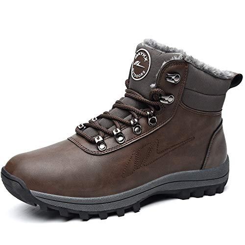 TSIODFO Men Winter Snow Boots