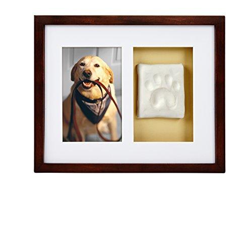 Pearhead Pet Keepsake Frame, Espresso, 4 x 6 Inches