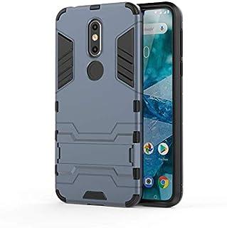 غطاء هاتف Nokia 7.1 Iron Man Hybrid Armor Bumper Bumper