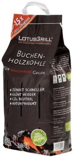 LotusGrill-Buchenholzkohle