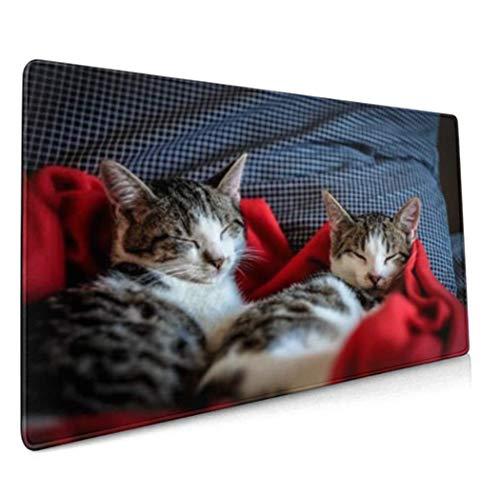 Mousepad mit eigenem Foto Bedrucken,Geschenke Für FreundeXXL Mauspad Gaming 700x300 mm,XXL Mousepad groß Tischunterlage Large Size Geschenk für Freund Weihnachten