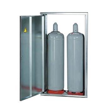 GOK Armoire à bouteilles de gaz pour 2 x 11 kg