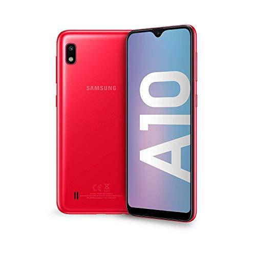 Samsung A10 Tim Red 6.2' 2gb/32gb + Micro Sd 32gb Dual Sim