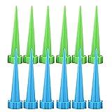 kentop 12pcs Dispenser acqua irrigazione vacanze contagocce Annaffiatoio Dispenser acqua Spikes per camera Piante Piante in vaso