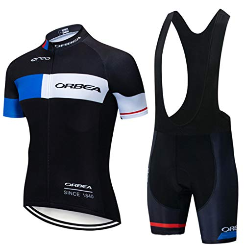 acolchados para ciclismo Pantalones cortos de ciclismo para hombre transpirables MEETYOO 4D