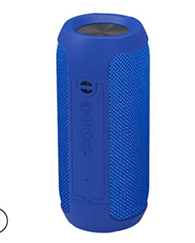 Release Altavoz Bluetooth inalámbrico portátil Columna de Bajos Impermeable al Aire Libre USB Altavoz Soporte Auxiliar TF subwoofer Altavoz TG117 (Color : Blue)