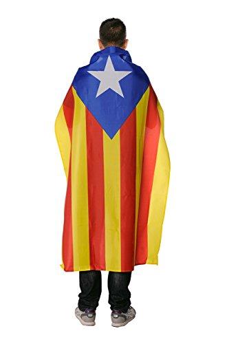 ReefCommerce Bandera Estelada Catalana 150 x 90. Estelada. Bandera Catalana Independentista 150 x 90.