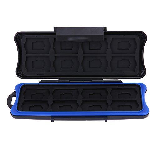 Domybest 32 in 1 transporttas voor geheugenkaart, opbergbox voor geheugenkaarten en speelkaarten, beschermhoes voor Nintendo Switch