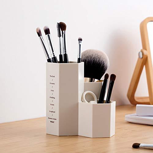 Simmia Home Organisateur de maquillag, Porte Pinceau de maquillageBoîte à Outils Multifonctions de Stylo de Stylo de Baril de sourcil de Stockage de Brosse de Maquillage, 1