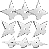 Weewooday 10 Pieces Star Magnets Decorative Dart Refrigerator Magnets Office Whiteboard Magnets for Christmas Refrigerator Whiteboard Office