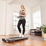 SportPlus cinta para caminar hasta 6km/h • motor silencioso • ideal para casa, la oficina o como standing desk • plana y fácil de guardar • SP-TM-1006