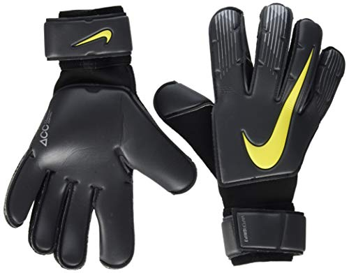 Nike NK GK VPR GRP3-NEW Gants de Foot Mixte Adulte, Anthracite/Black/Option Yellow, FR : XS (Taille Fabricant : 6)