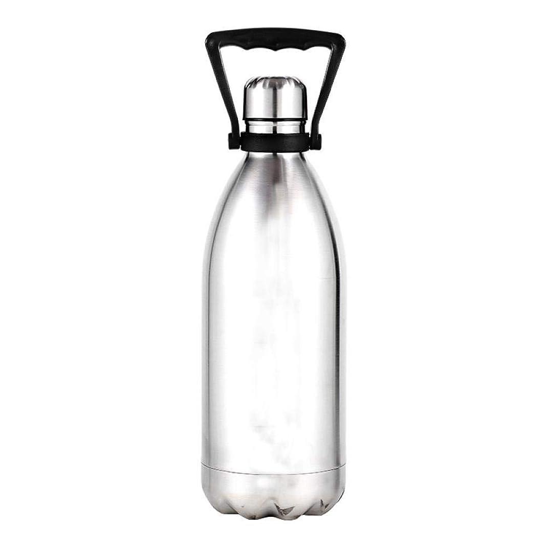 綺麗な放射する部門COLORFUH スポーツ用品 1500ミリリットル大断熱ケトルクリエイティブブランドデザインステンレス鋼BPA無料健康真空フラスコ